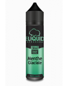 Menthe Glaciale 50ml - eliquid France